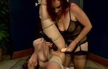 Yhivi and Bella Rossi BDSM lesbian sex